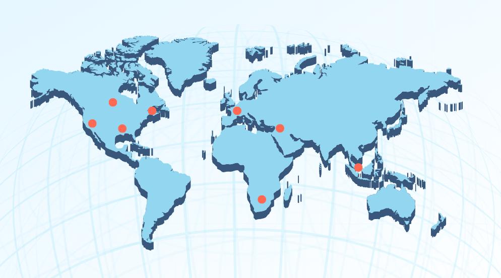 international cyber centers