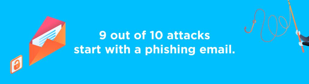 Cybercrime phishing trend