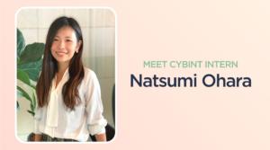 meet cybint commercial intern natsumi ohara